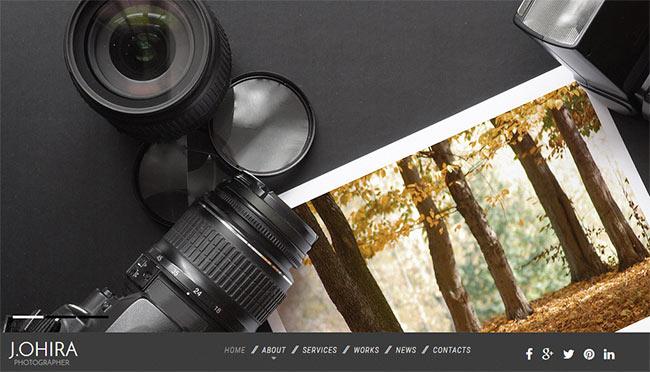 шаблон для фотографа